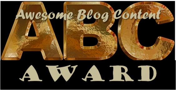 ABC Blogger Award